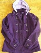 Mój nowy śliczny fioletowy płaszczyk