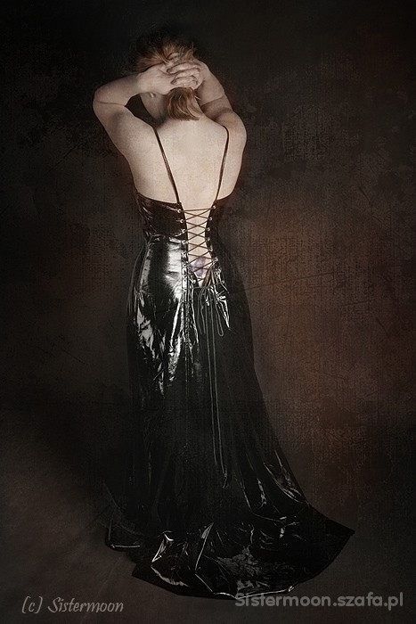 Suknia balowa latexowa Leg Avenue