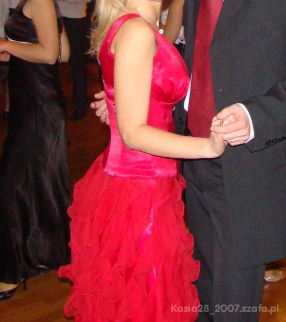 Na specjalne okazje Sukienka czerwona