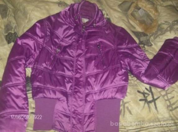 fioletowa kurtka na jesień i zimę 36