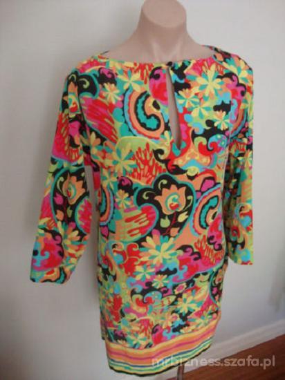 100 procent jedwabna Zara nowa cudowna sukienka