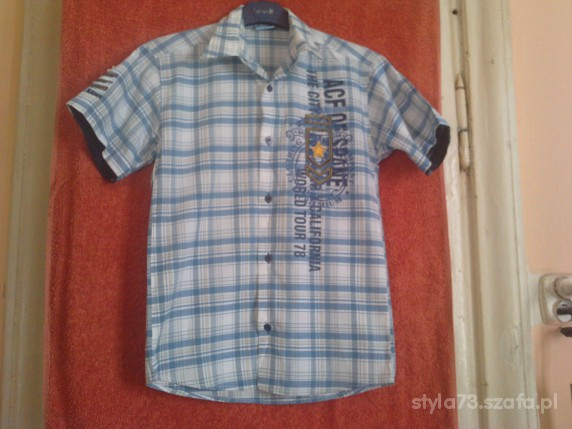 Koszulki, podkoszulki KOSZULA CHŁOPIĘCA na 152 cm