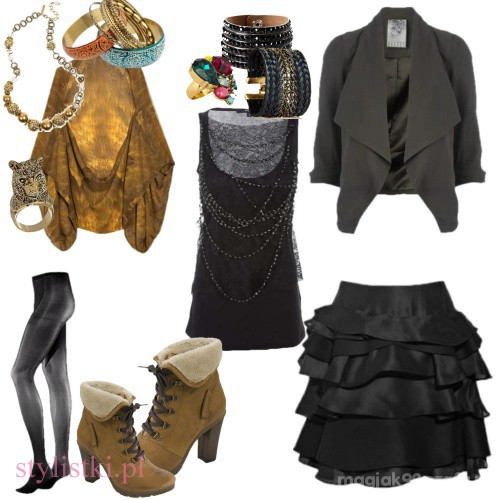 Vintage Camel i czern