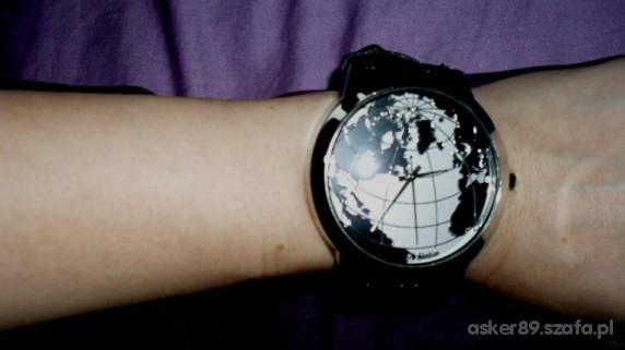 Zegarki zegarek globus