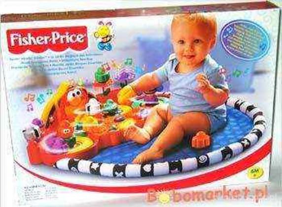 Zabawki Dywanik Fisher Price Mój mały wielki świat