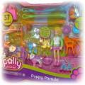 POLLY POCKET Puppy Parade mega zestaw 26sztuk
