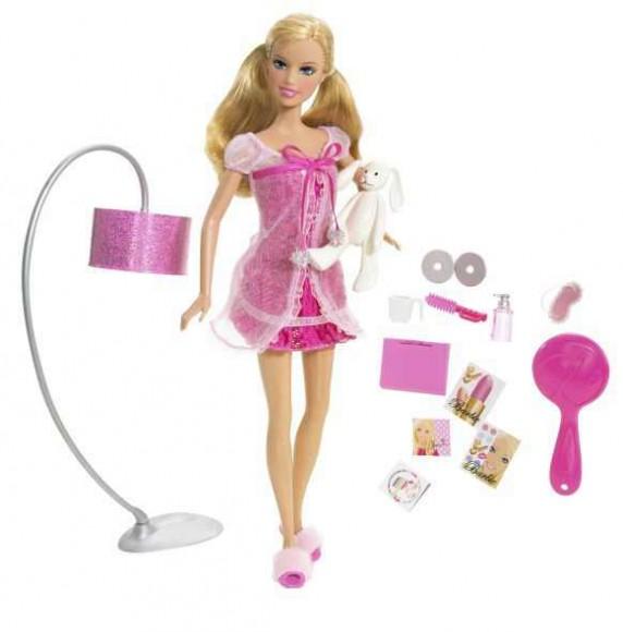 Zabawki Poranek z Barbie N6184 Barbie Mattel