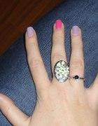 Mój nowy kwiatowy pierścionek