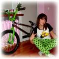 Kreacja na rower z moim easternem