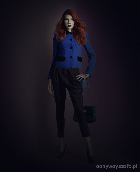 Eleganckie The contrast blue