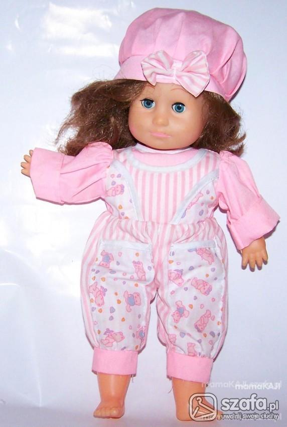 Zabawki LALKA w różowym ubranku