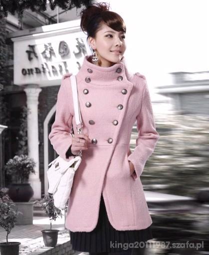Różowy Płaszczyk Japan Style Co Sądzicie