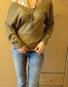 dzianinowy sweterek...