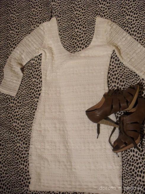 Eleganckie moja ulubiona koronkowa sukienka