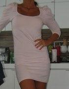 Tunika sukienka ZARA bufki XS