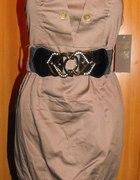 Sukienka tunika bombka S
