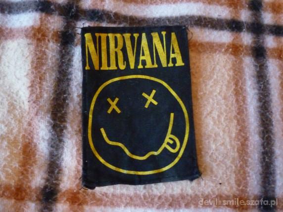 Pozostałe naszywka rock grunge NIRVANA