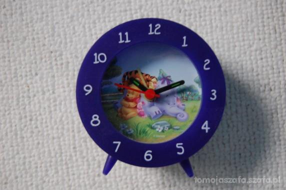 Zabawki Kolorowy zegar budzik Kubuś Puchatek i pudełko