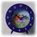 Kolorowy zegar budzik Kubuś Puchatek i pudełko