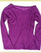 H M moherowy sweterek...
