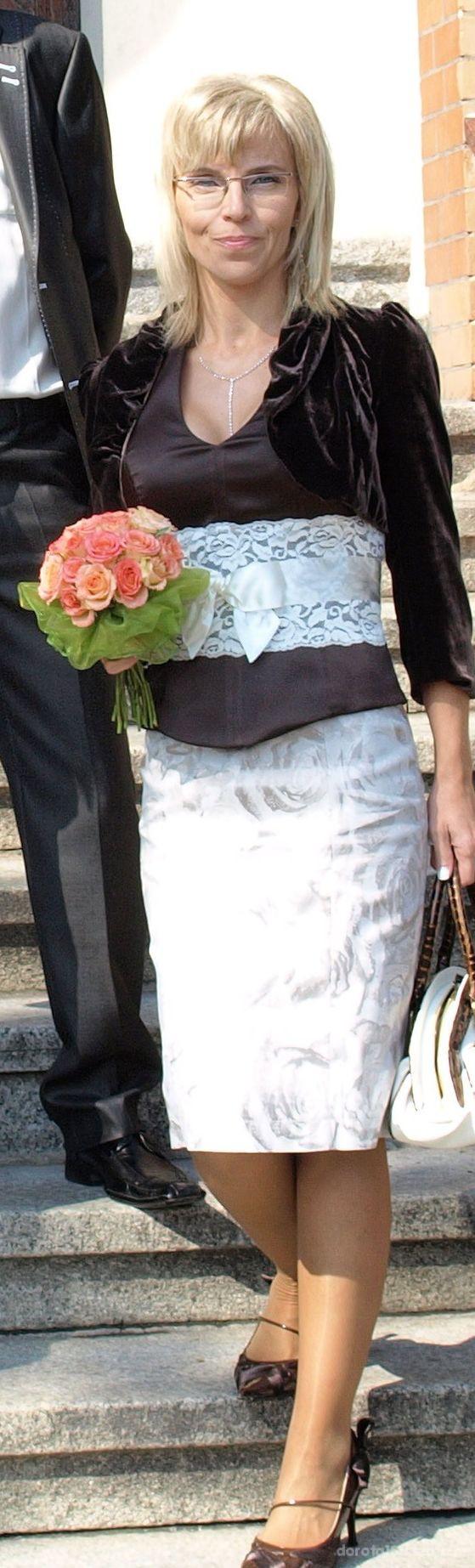 Eleganckie ślub córki