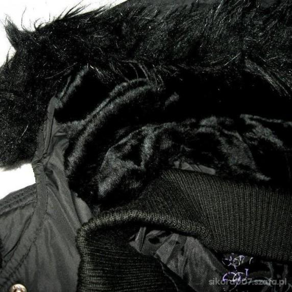 New Yorker Czarna Kurtka z Kapturem L XL w Odzież wierzchnia