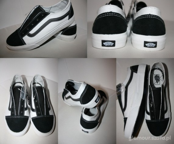 vans old school czarne