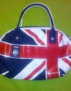 torebka z flagą brytyjską...