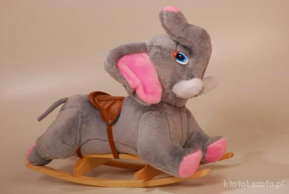 Zabawki słoń na biegunach