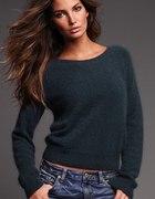 Klasyczny mięciutki sweter...