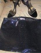 Świecąca mini spódnicza z Tally WeiJl...