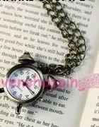 Naszyjnik zegarek WYSYLKA GRATIS