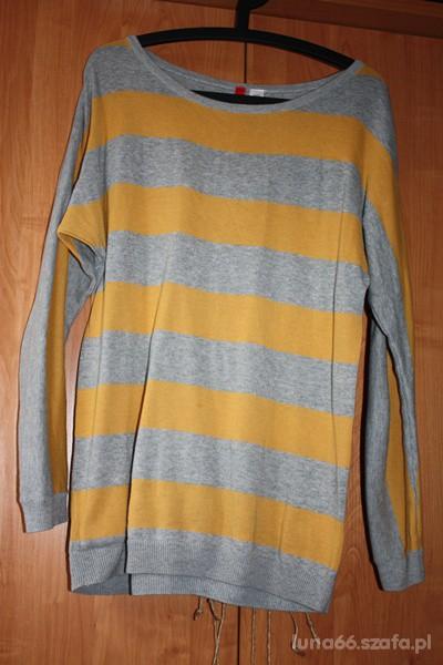 sweter w paski hm...