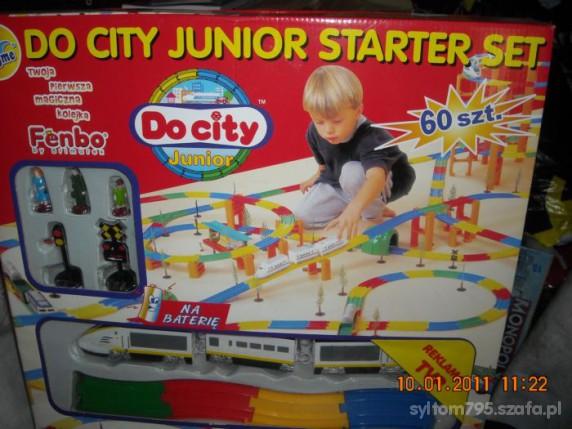 Zabawki DO CITY JUNIOR STARTER SET