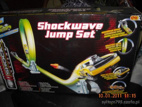 Zabawki shockwave jump set