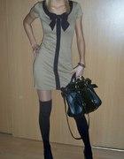 Sukienka DP z z kokardką
