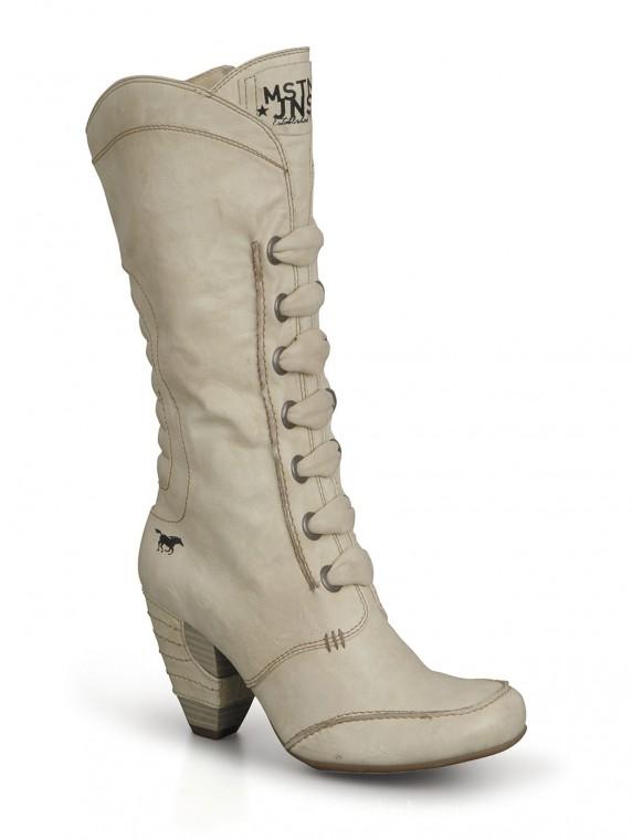 a86754749a73e3 Wyprzedaż Kozaki damskie MUSTANG shoes 27C018 w Kozaki - Szafa.pl