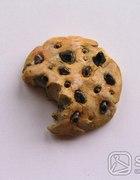 cookie broszka piegusek ciastko
