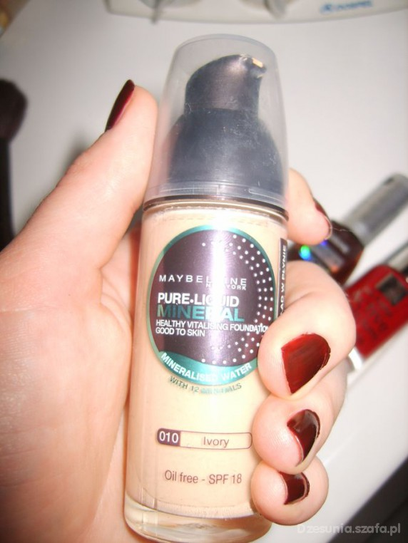 puder mineralny maybelline