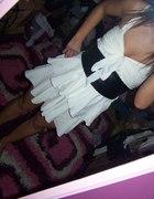 Moje sukienczki falbanka i pantera