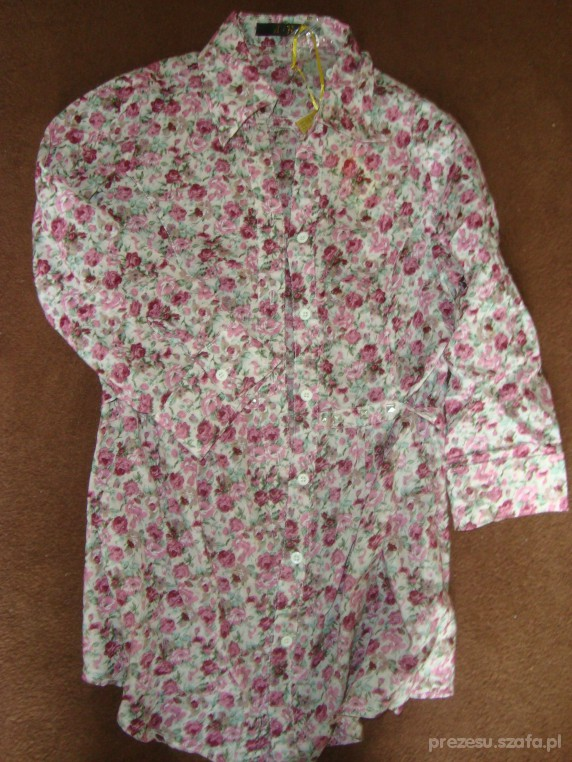 koszula a la dzieci kwiaty