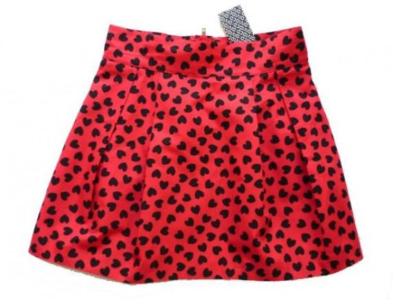 Spódnice spódniczka bombka w serduszka hm