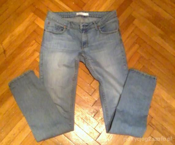 Jasne jeansy rurki Gina jeans rozm 40 na 42