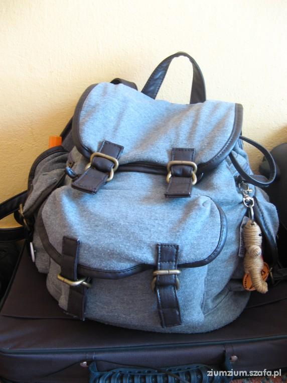 Plecaki szary plecaczek