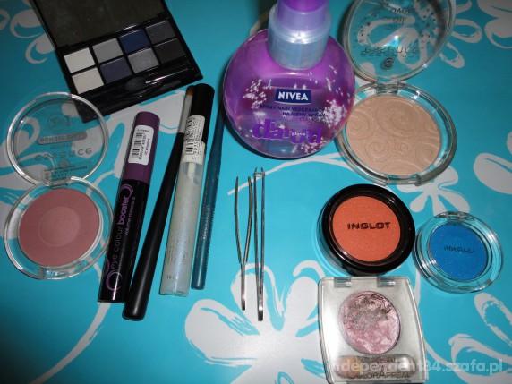 Zestawy zestaw kosmetykow cienie Inglot vipera jak MAC wax