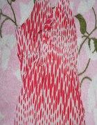 wiazana bluzka czerwono biala tally wejil...