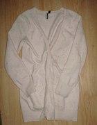 Beżowy koraliki sweterek TOPSHOP
