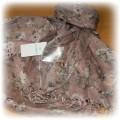 ATMOSPHERE apaszka FLORAL chusta brudny róż 2011