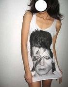 David Bowie tunika sukienka ziggy stardust...