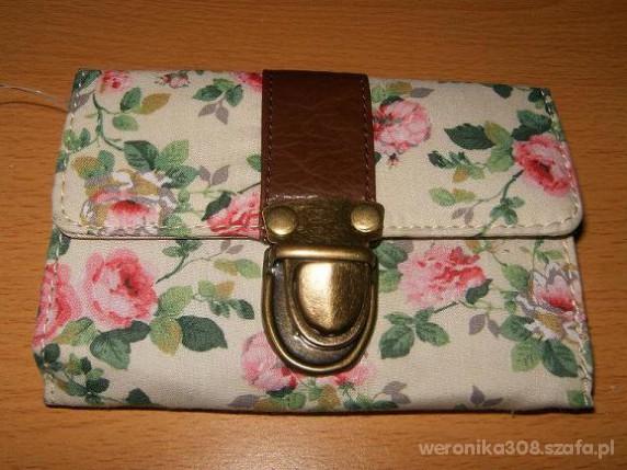 ATMOSPHERE portfel FLORAL cudenko 2011 NEW